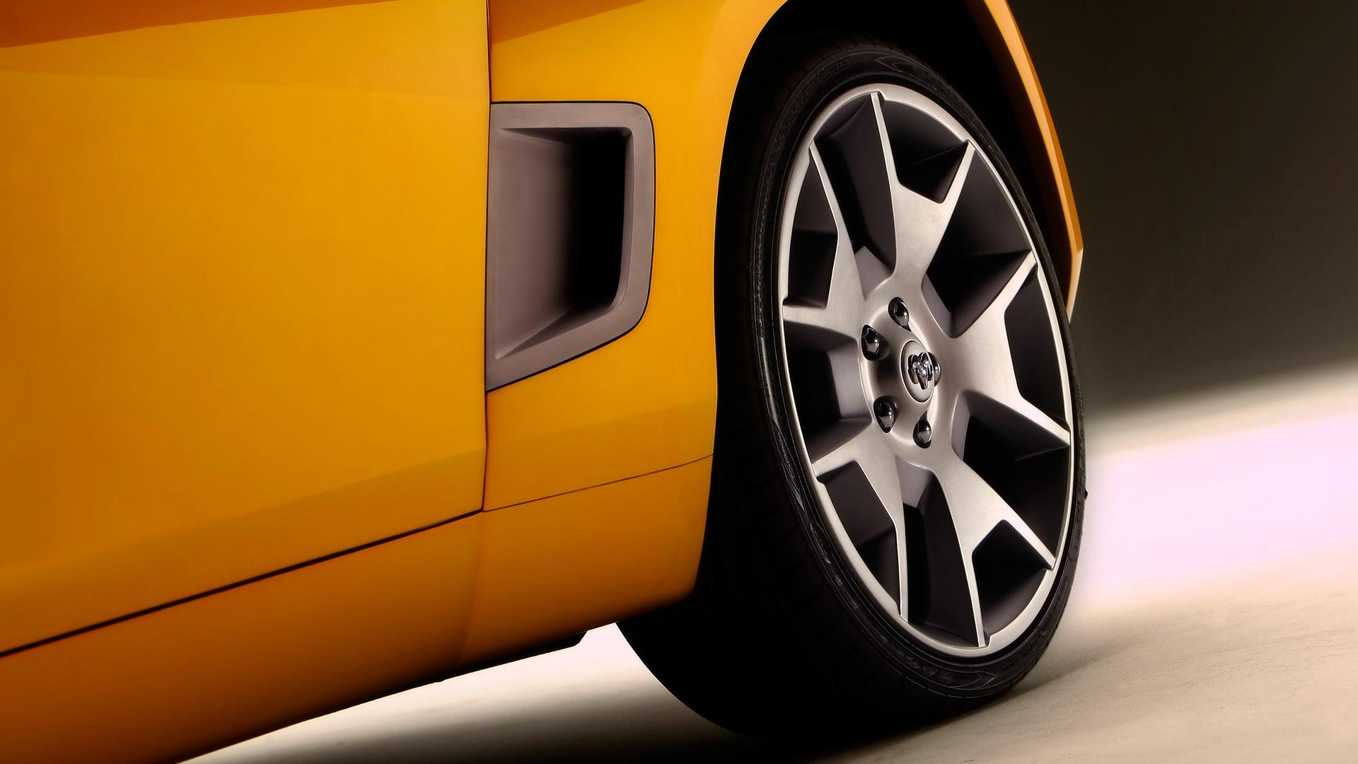 2007 Dodge Demon Roadster Concept Rear Vent 1920x1080