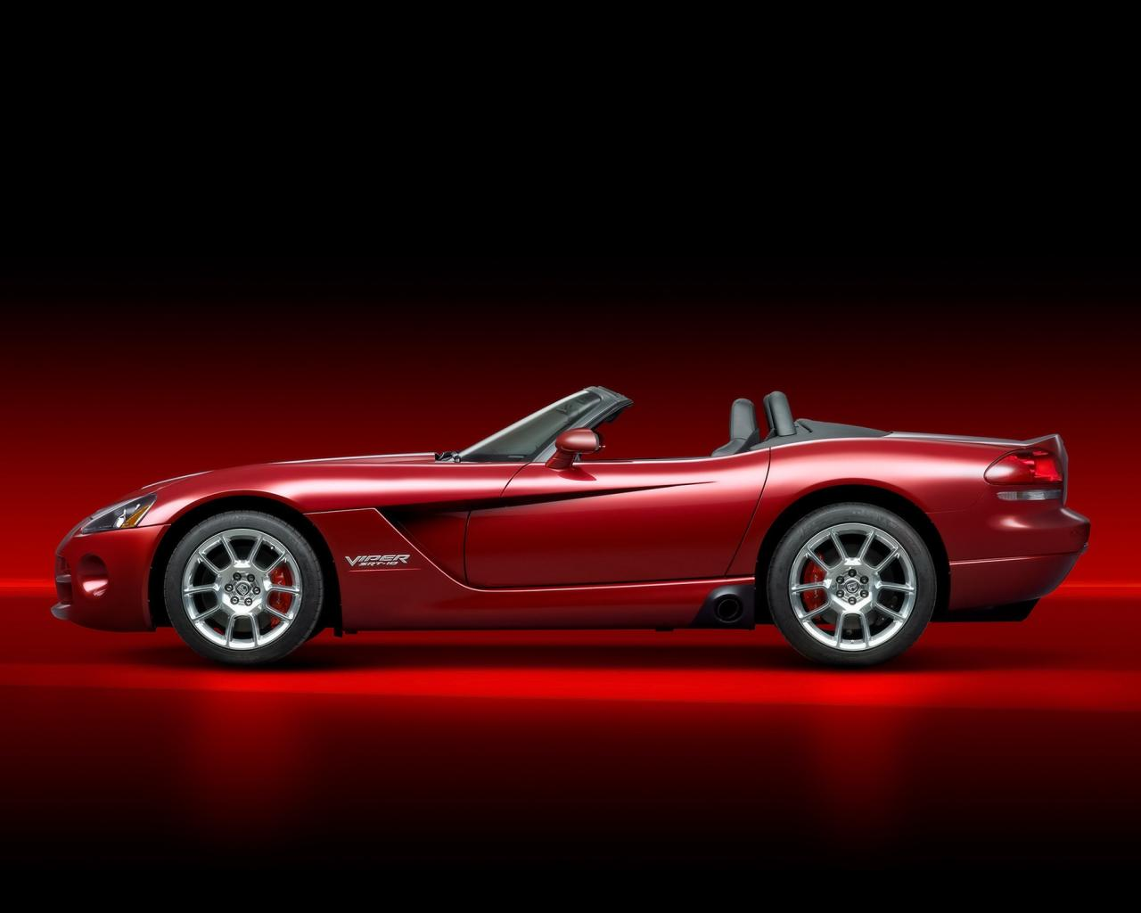 2008 Dodge Viper Srt10 Roadster Side 1280x1024
