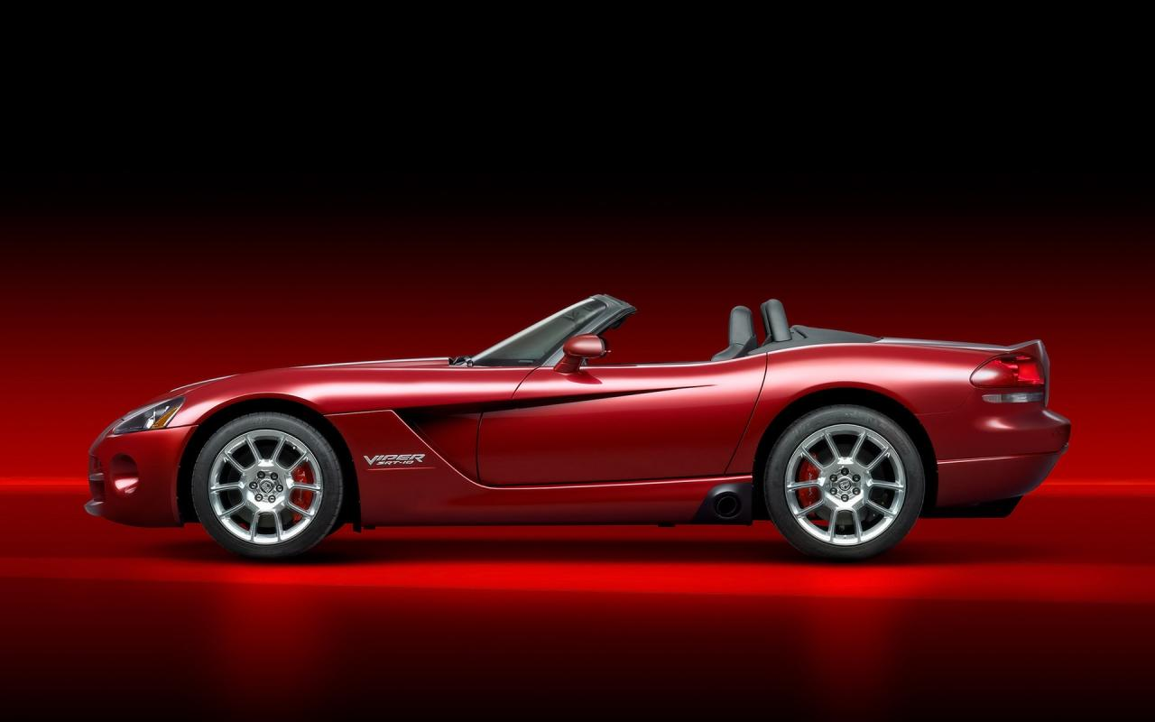 2008 Dodge Viper Srt10 Roadster Side 1280x800