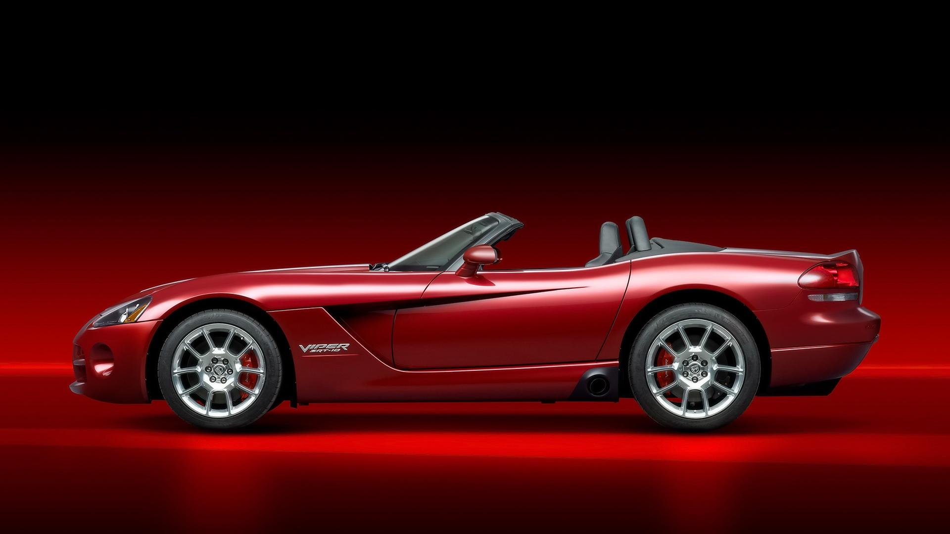 2008 Dodge Viper Srt10 Roadster Side 1920x1080