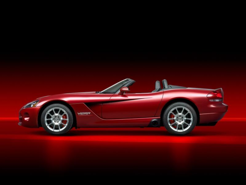 2008 Dodge Viper Srt10 Roadster Side 800x600