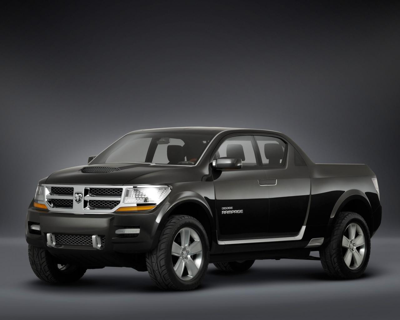 2006 Dodge Rampage Concept Single Angle 1280x1024
