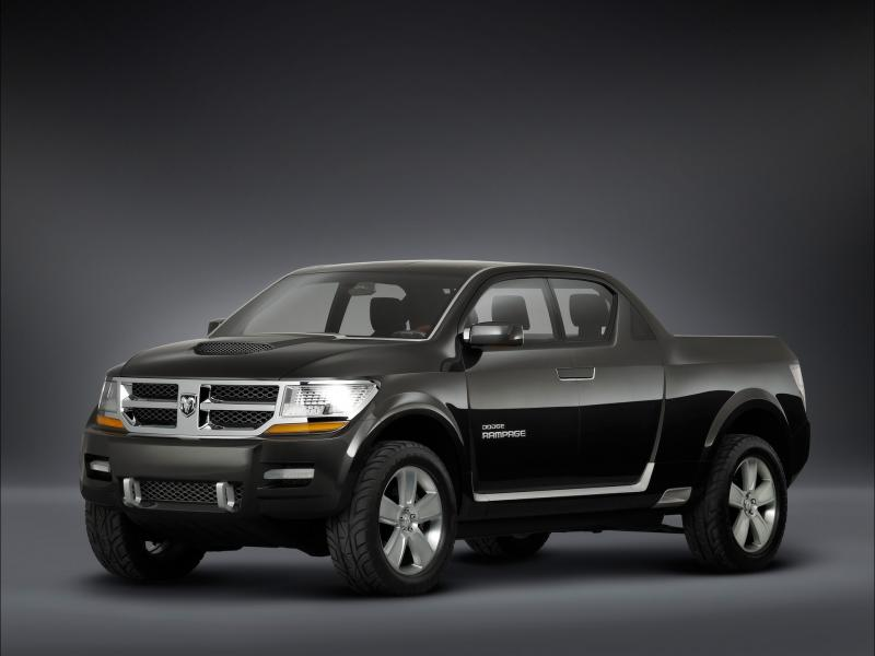 2006 Dodge Rampage Concept Single Angle 800x600