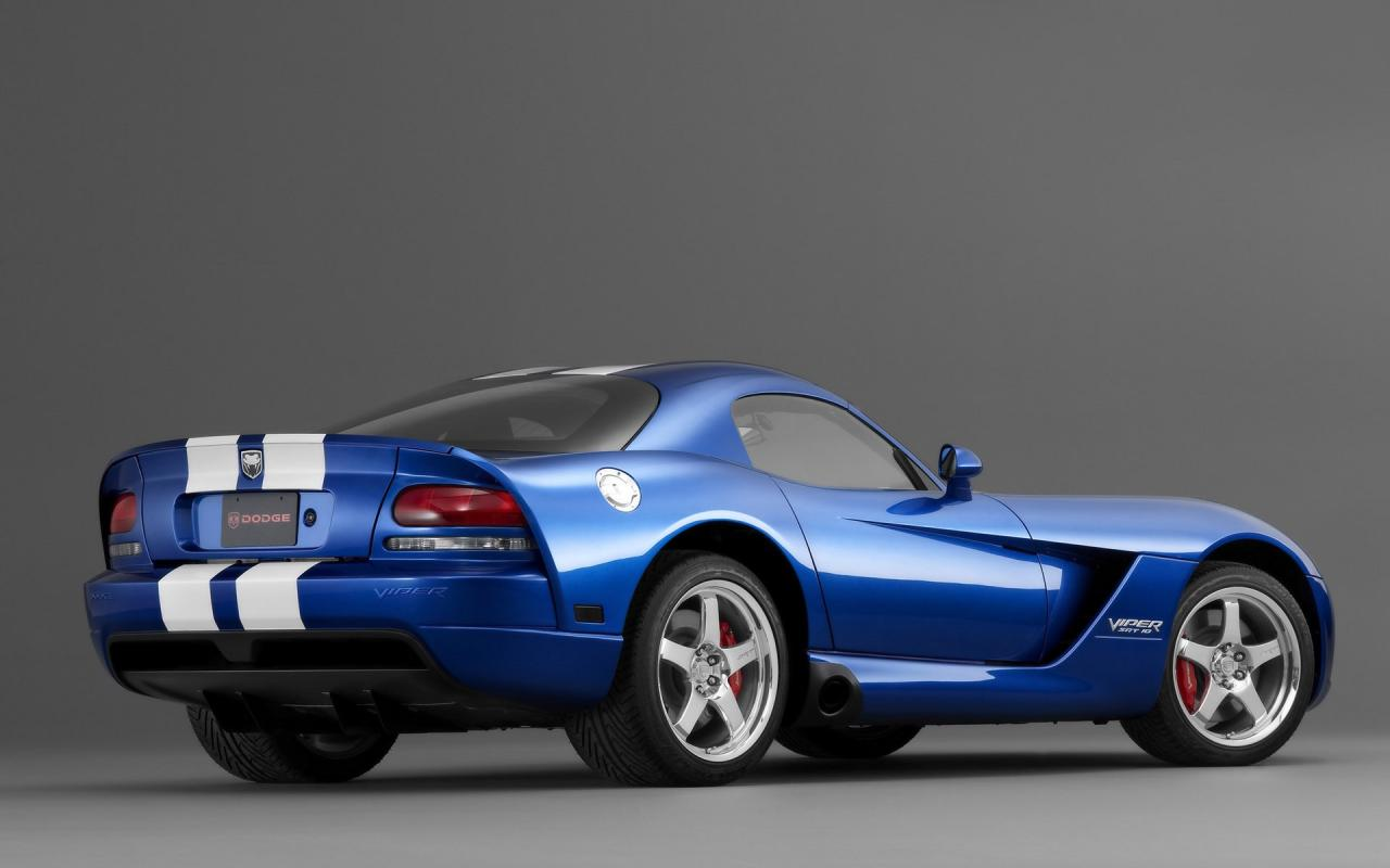 2006 Dodge Viper Srt10 Ra Studio 1280x800