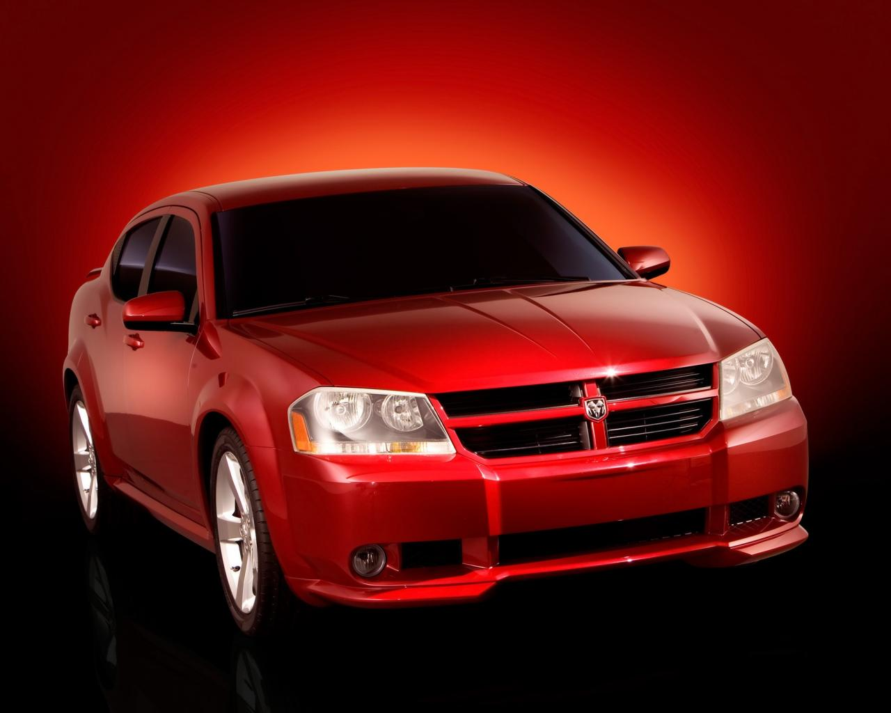 2006 Dodge Avenger Concept Front Angle 1280x1024