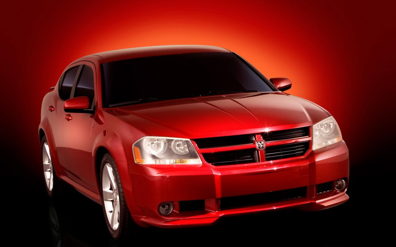 2006 Dodge Avenger Concept Front Angle 1280x800
