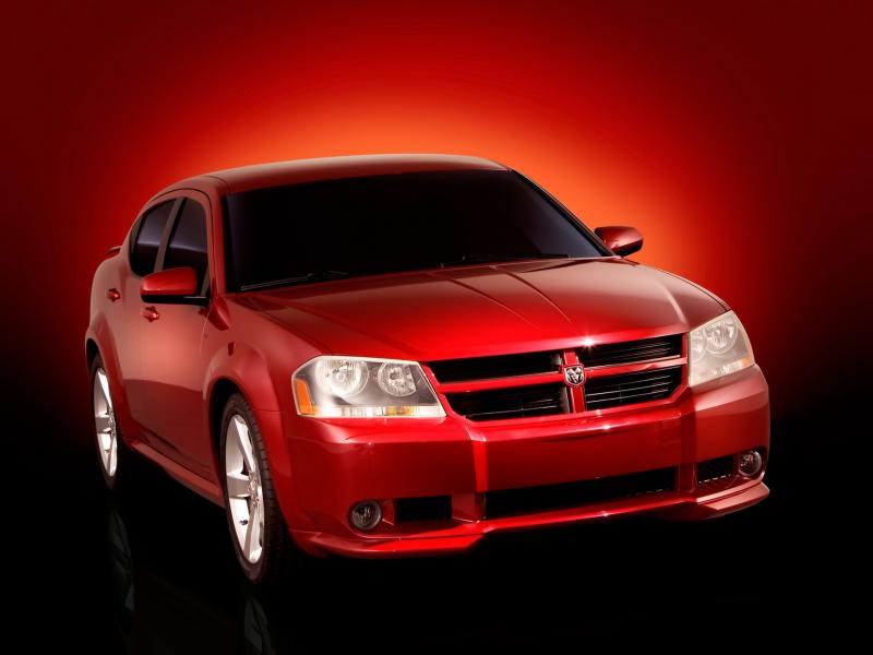 2006 Dodge Avenger Concept Front Angle 800x600
