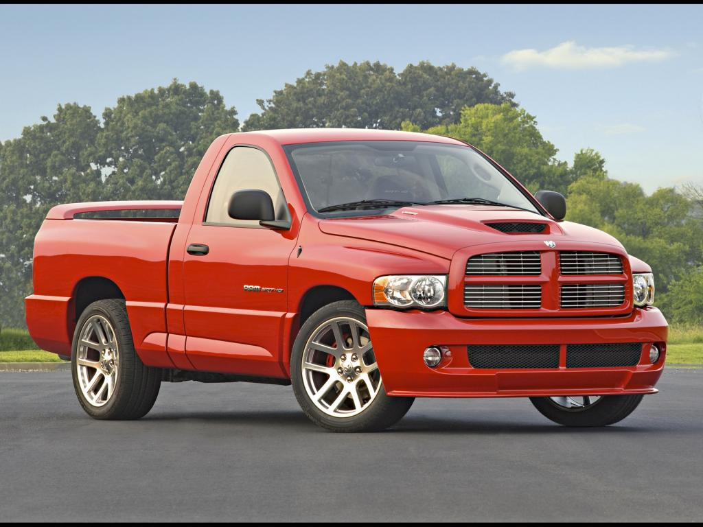 2004 Dodge Ram Srt 10 Red Fa 1024x768