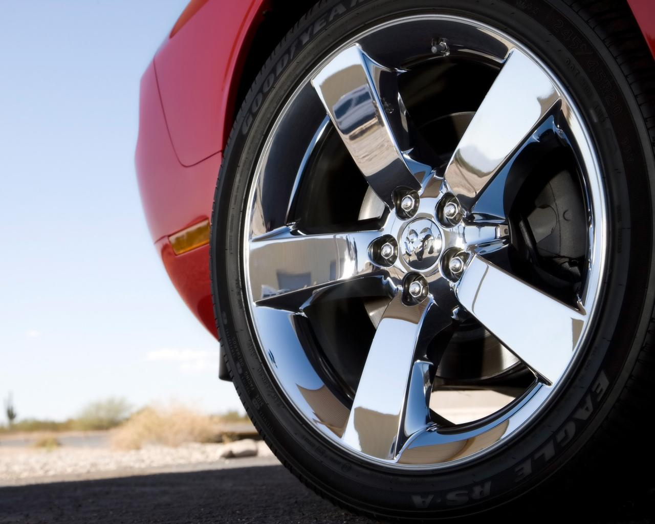 2009 Dodge Challenger Rt Wheel 1280x1024