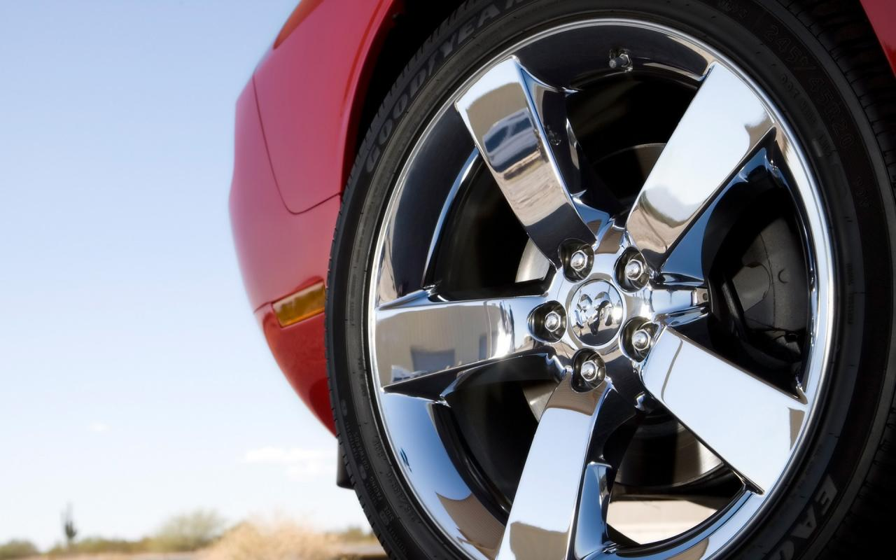 2009 Dodge Challenger Rt Wheel 1280x800