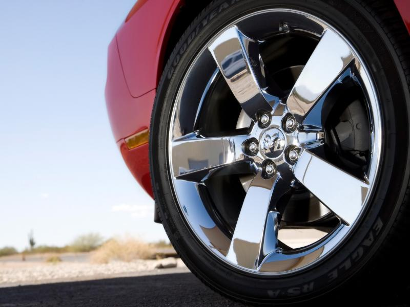 2009 Dodge Challenger Rt Wheel 800x600