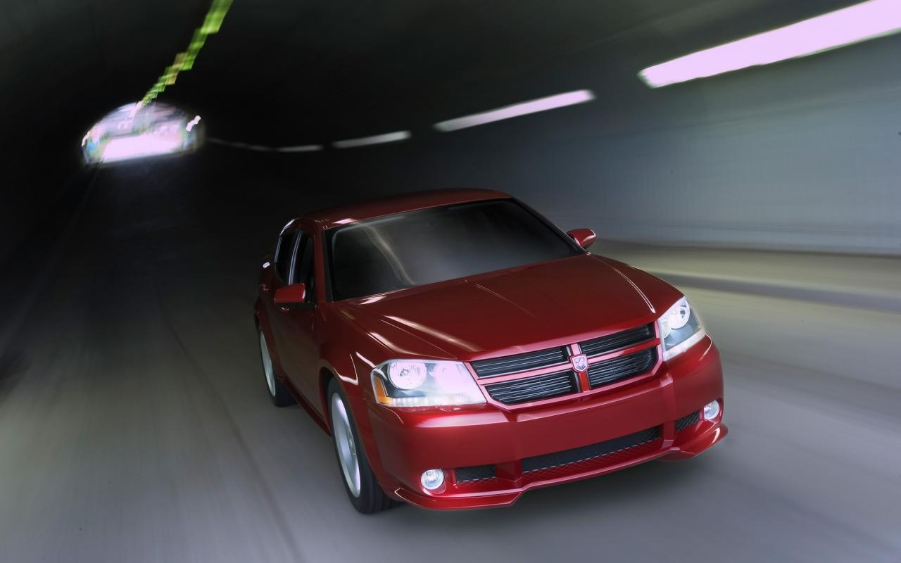 2006 Dodge Avenger Concept Front Angle Drive 1280x800