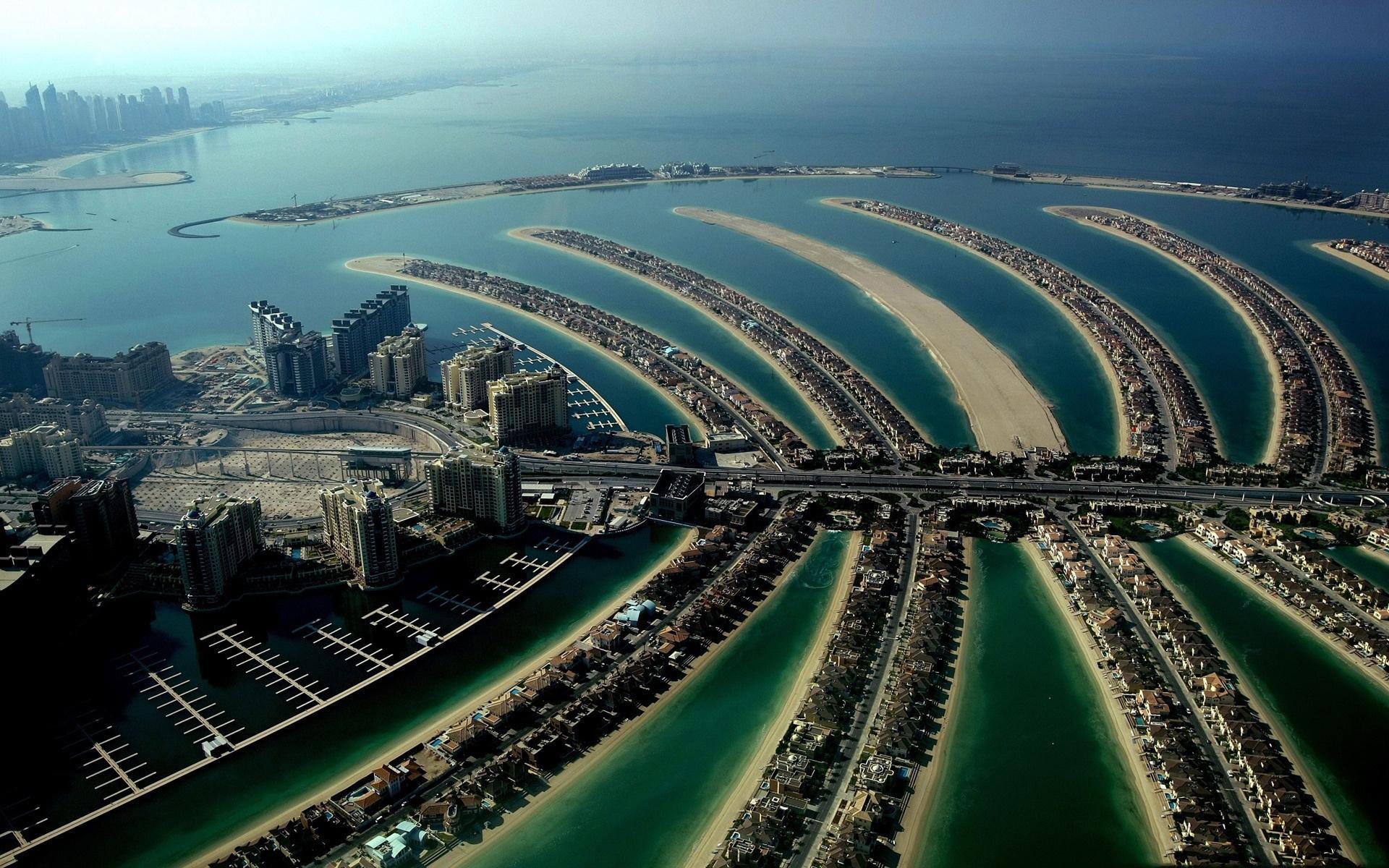 ОАЭ, Эмираты, Пальма Джумейра, Дубаи обои для рабочего стола ...