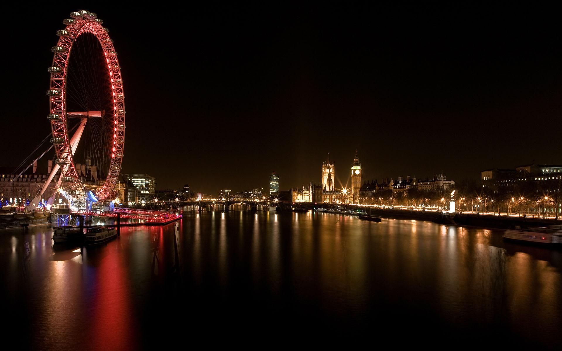 Обои ночь, london. Города foto 18