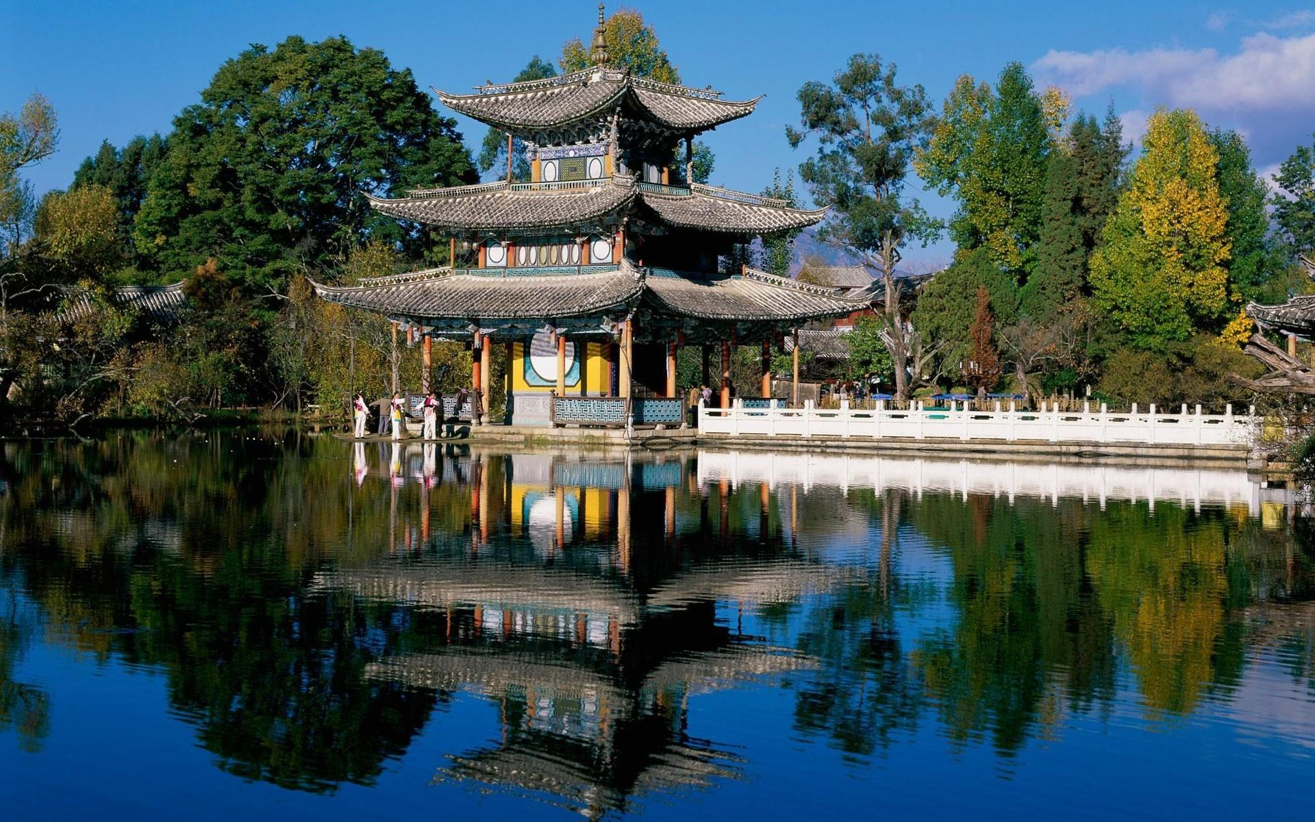 chinesischer garten wallpaper – motelindio, Garten ideen