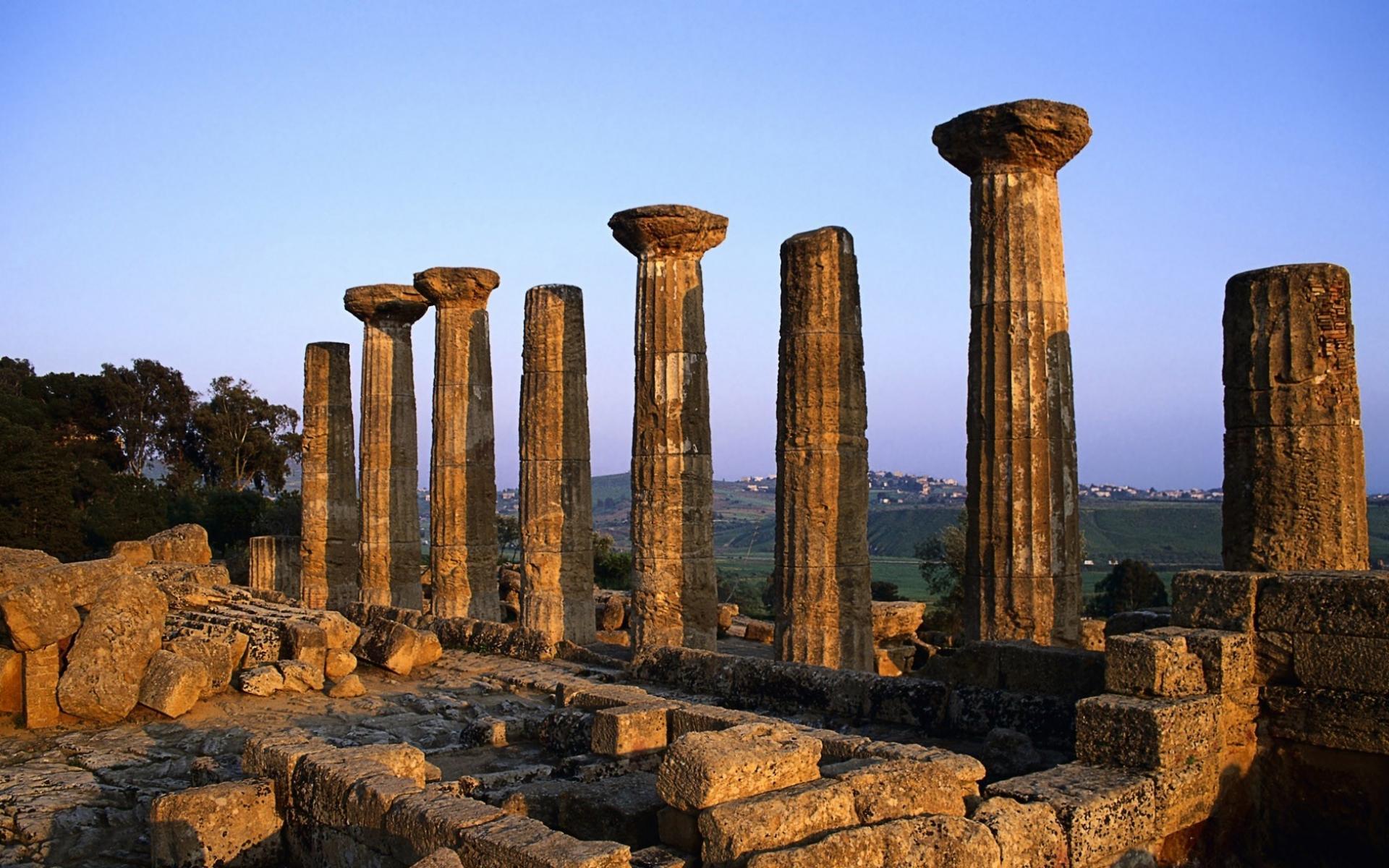 фотообои колонны: