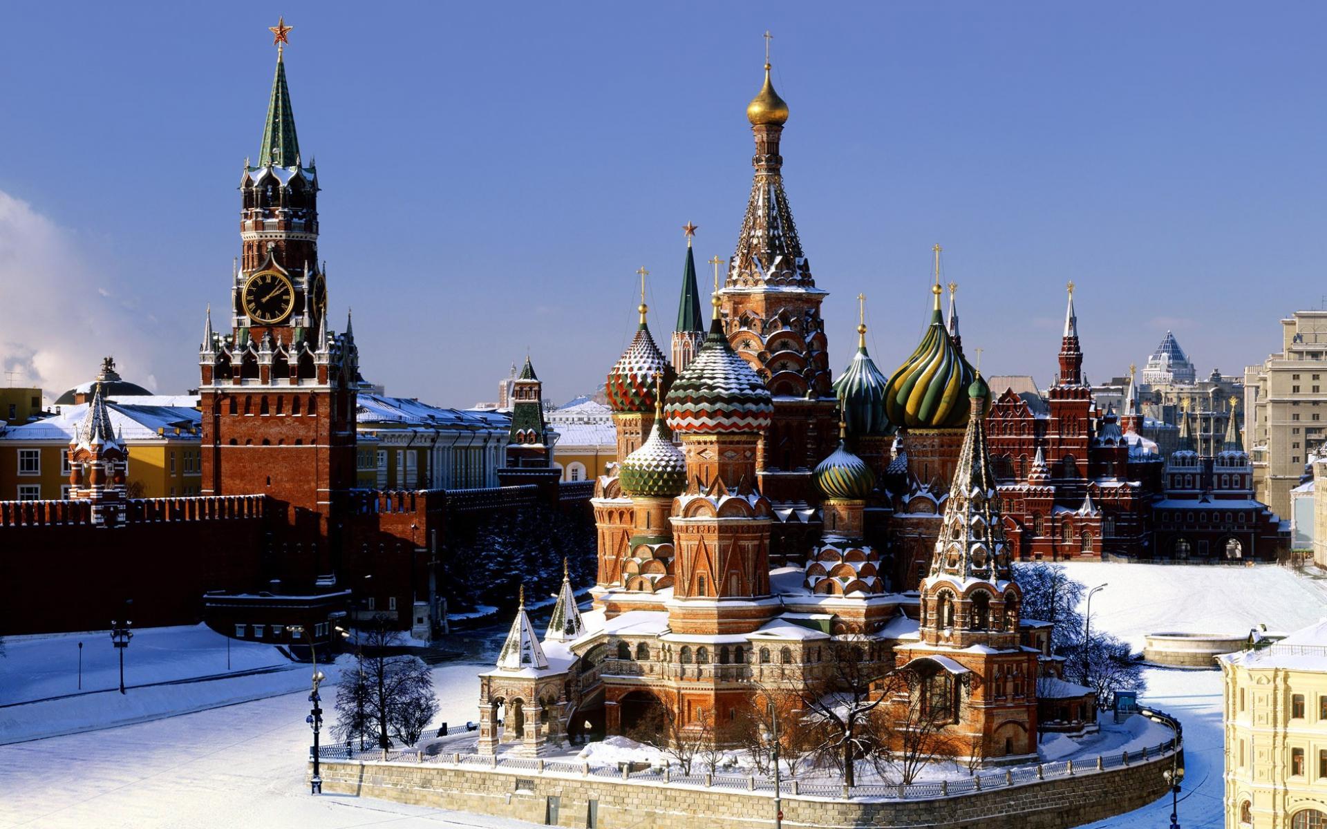 Москва обои для рабочего стола