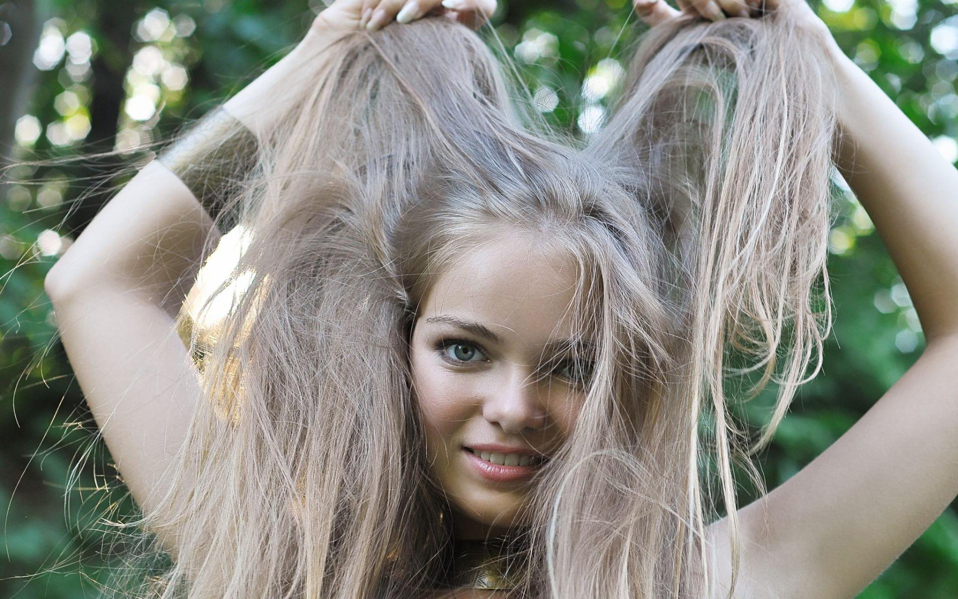 Распущенные волосы распущенные
