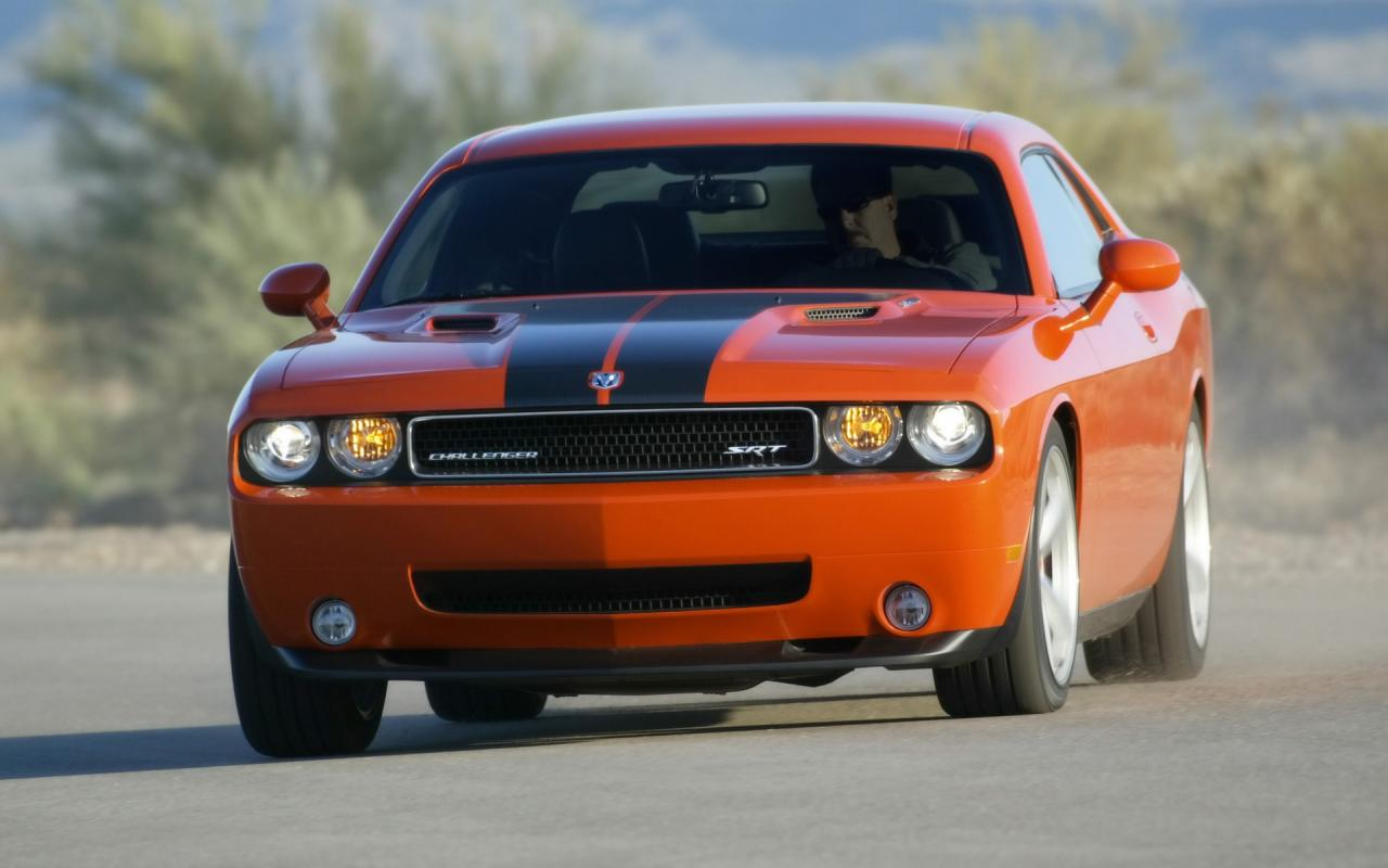 2008 Dodge Challenger Srt8 Front Angle Speed 1280x800