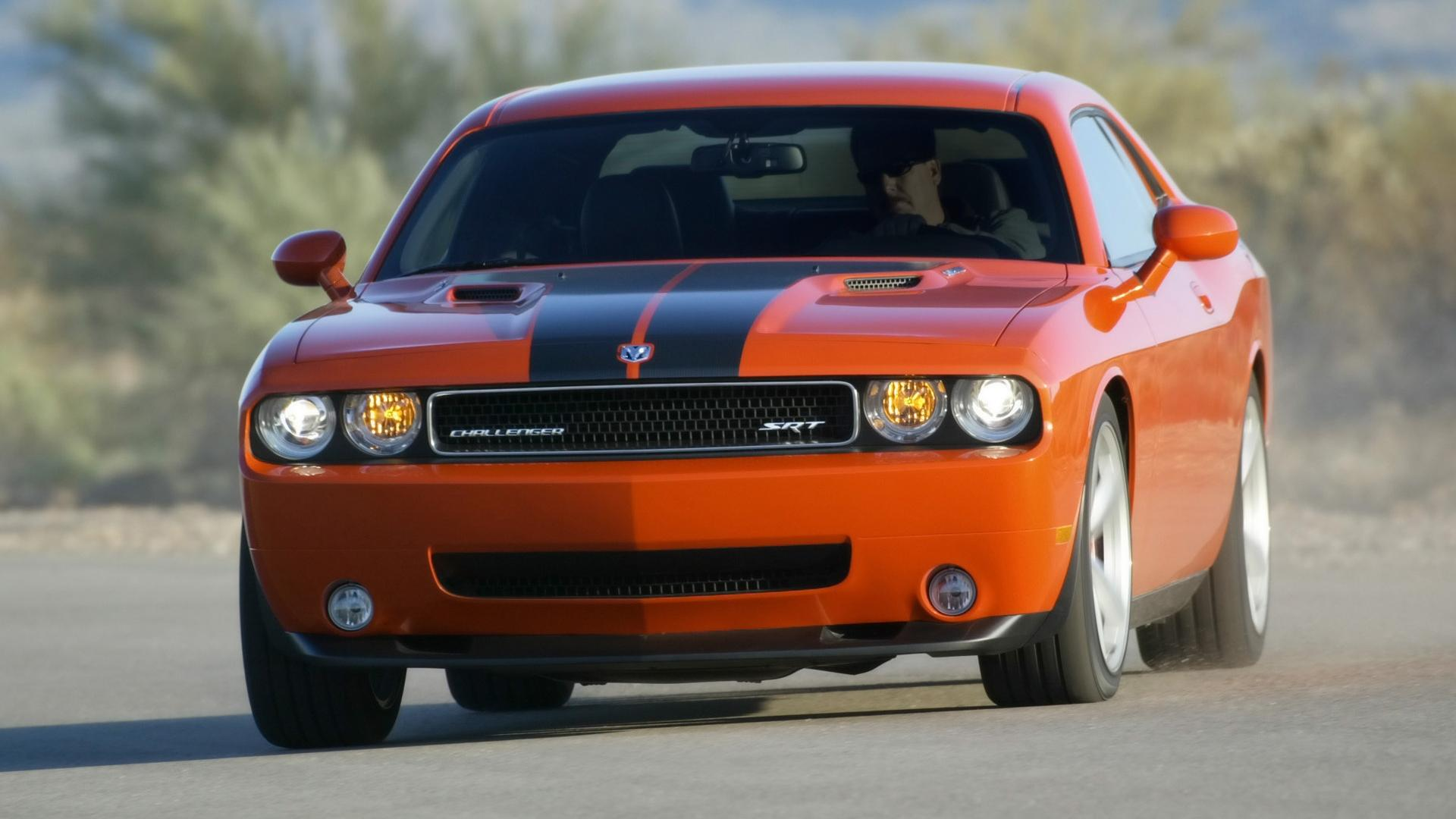 2008 Dodge Challenger Srt8 Front Angle Speed 1920x1080