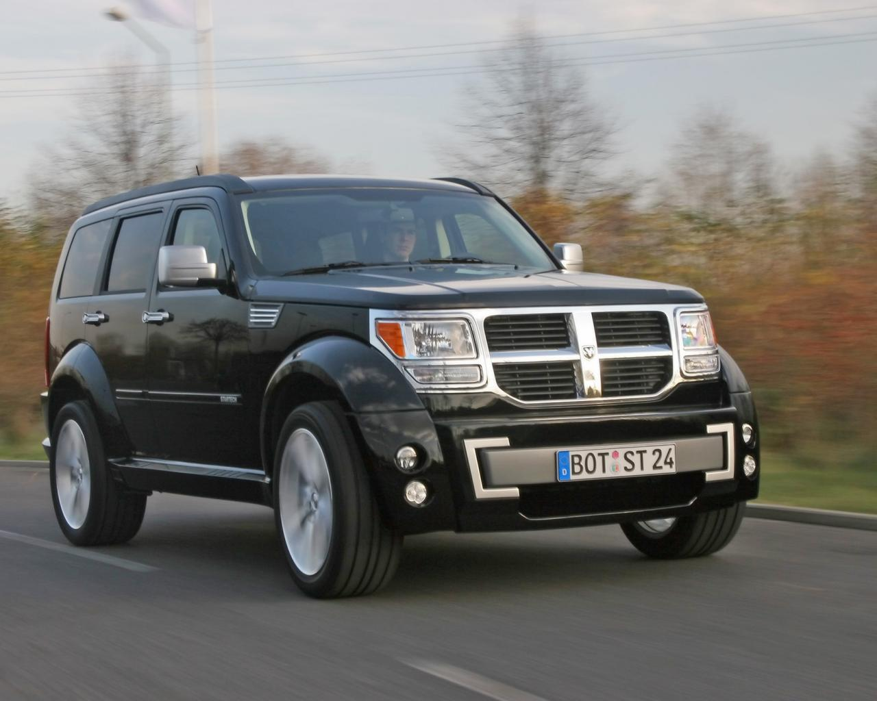 2007 Startech Dodge Nitro Front Angle Speed 1280x1024