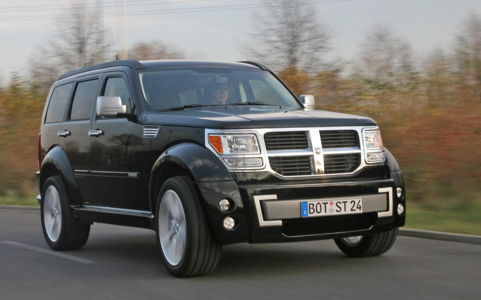 2007 Startech Dodge Nitro Front Angle Speed 1680x1050