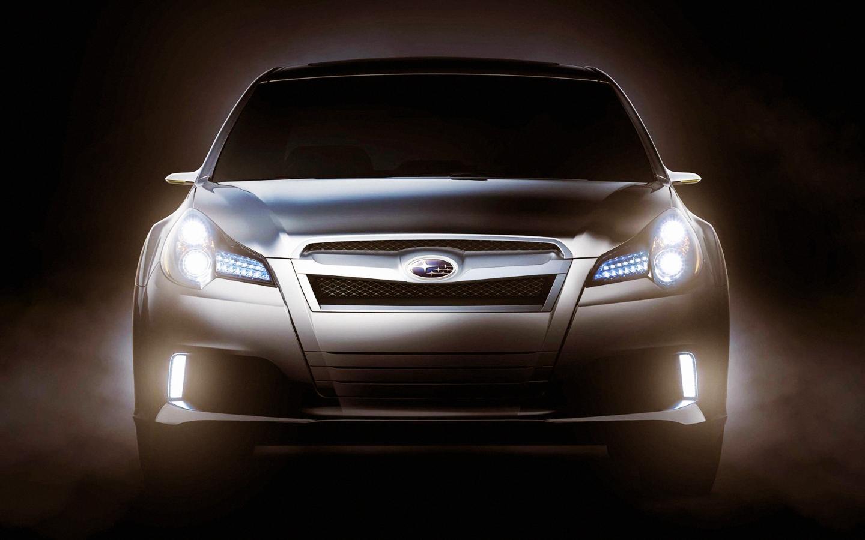 Subaru Legacy Concept Teased Ahe…