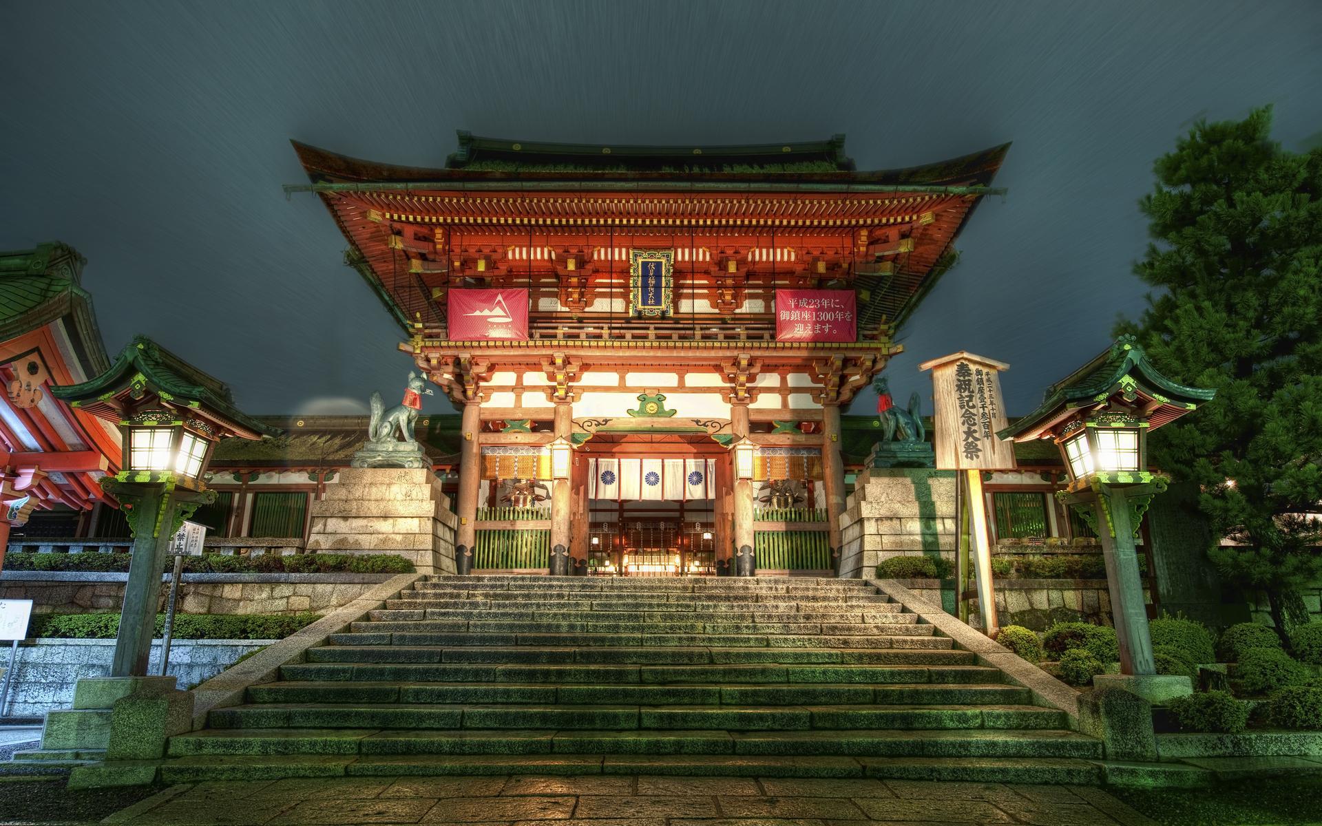 Япония храм обои для рабочего стола