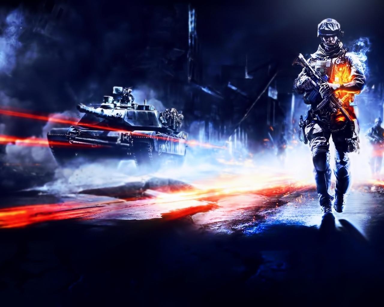 Battlefield 3 музыка из игры