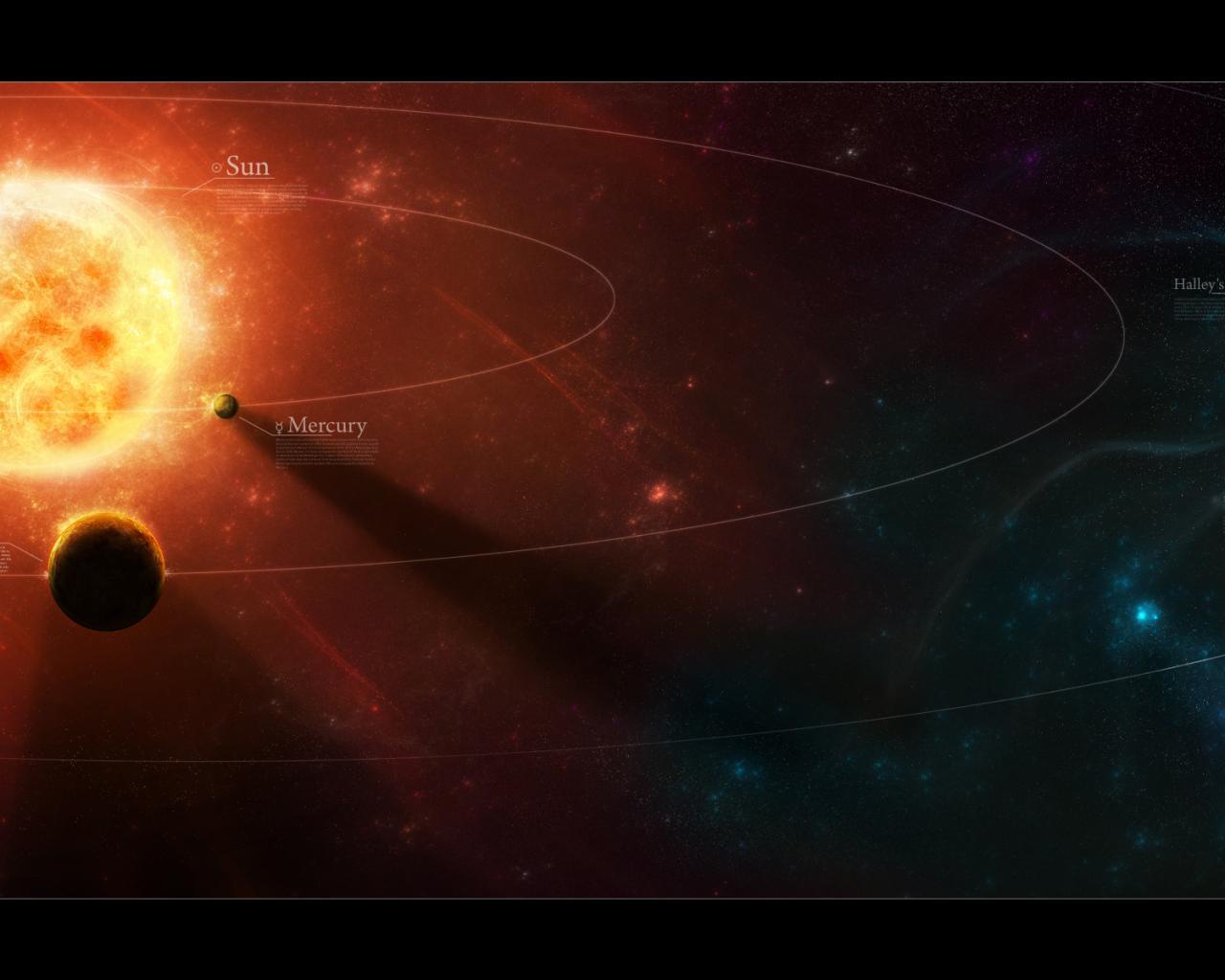 Космос солнечная система галактика