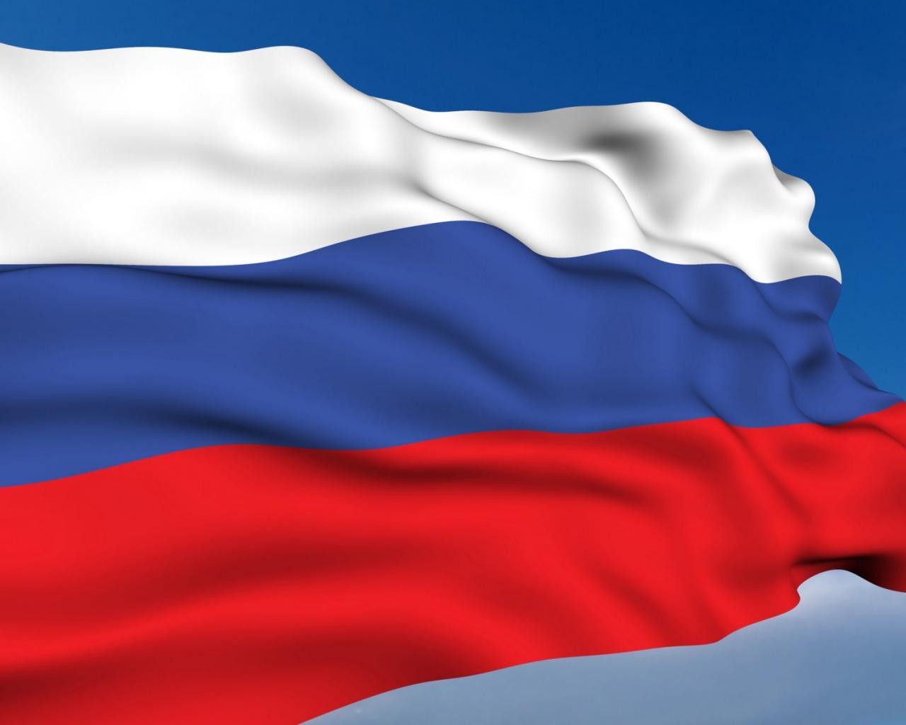 Флаг россии 3d обои для рабочего стола