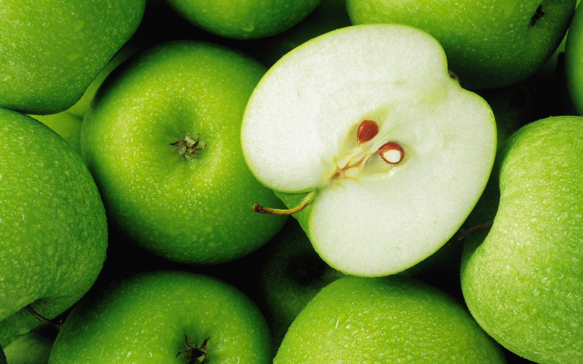 Зеленые обои