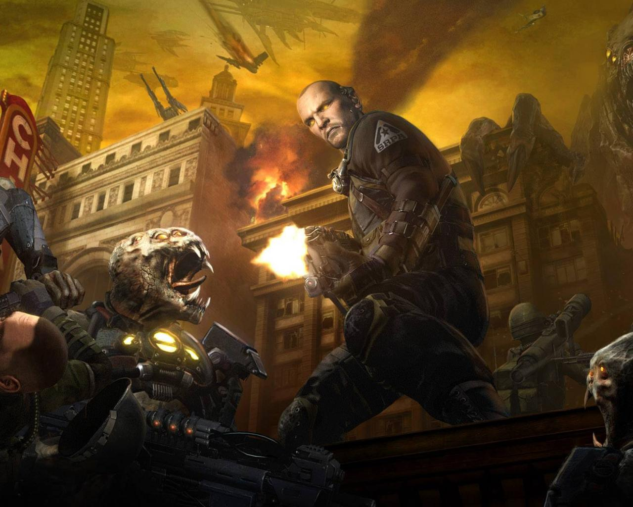 Война против мутантов обои для
