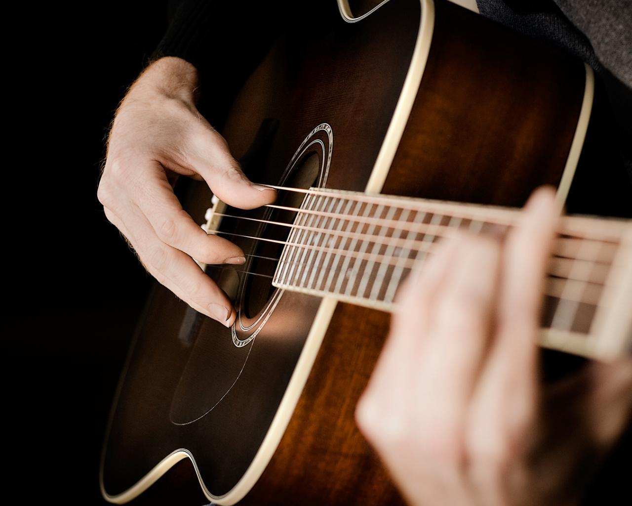 гитара обои на рабочий стол
