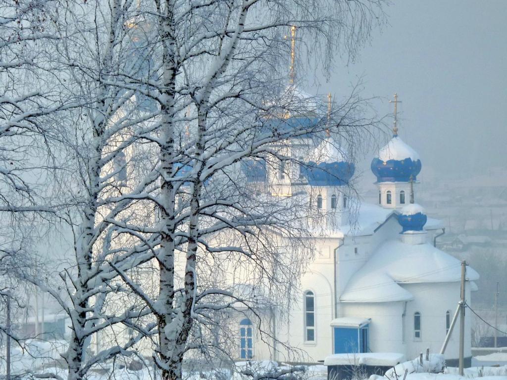 Храм зимой картинки 5