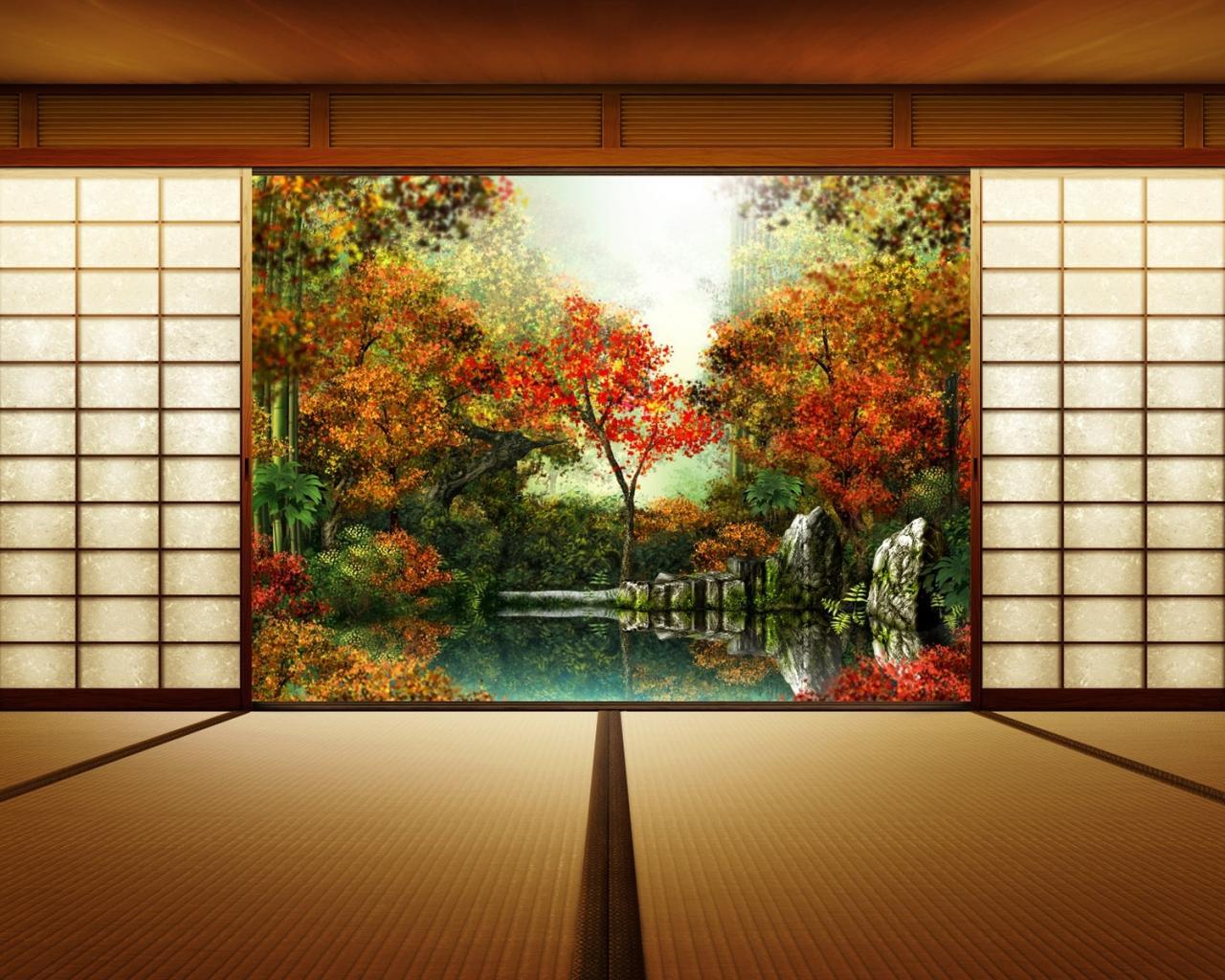 фотообои вид из окна: