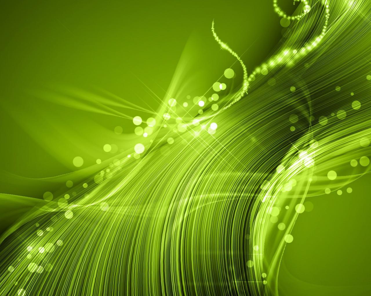 Красивая зеленая абстракция обои для
