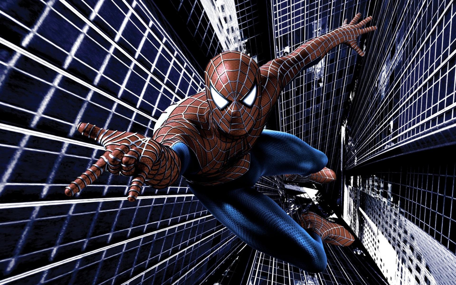 Новый человек паук обои для рабочего