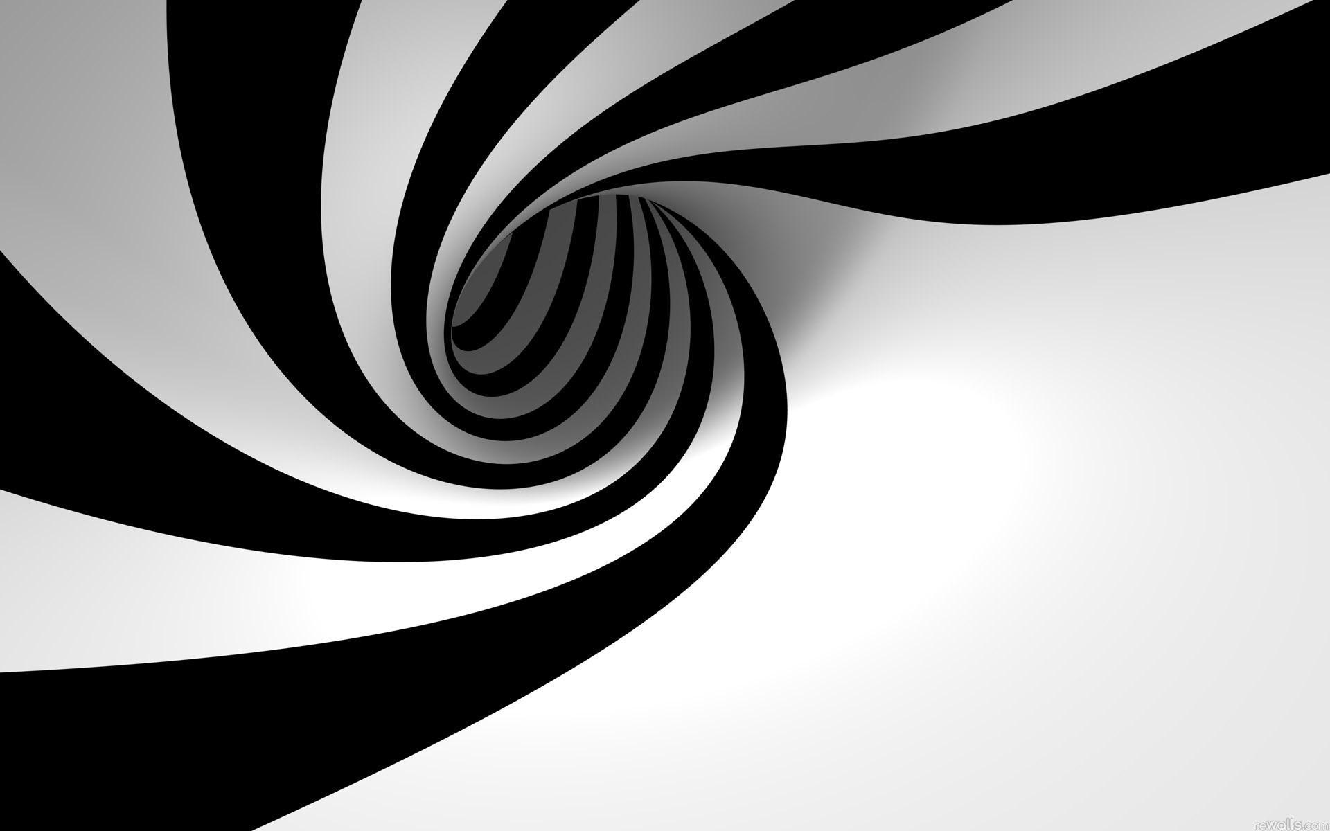 Абстракция линии цвет белый черный