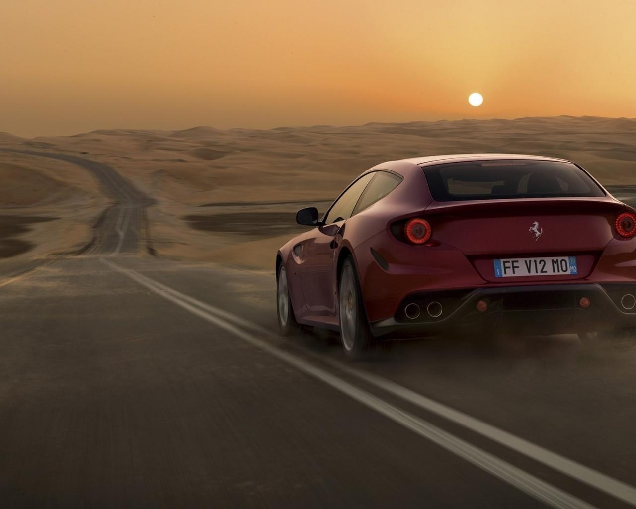 дорога пустыня авто