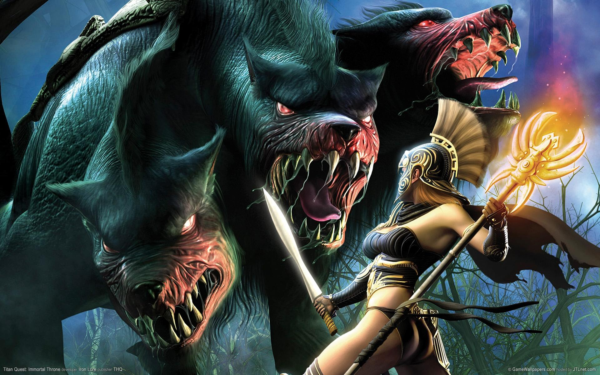 Titan Quest Immortal Throne Wallpapers on WallpaperDog
