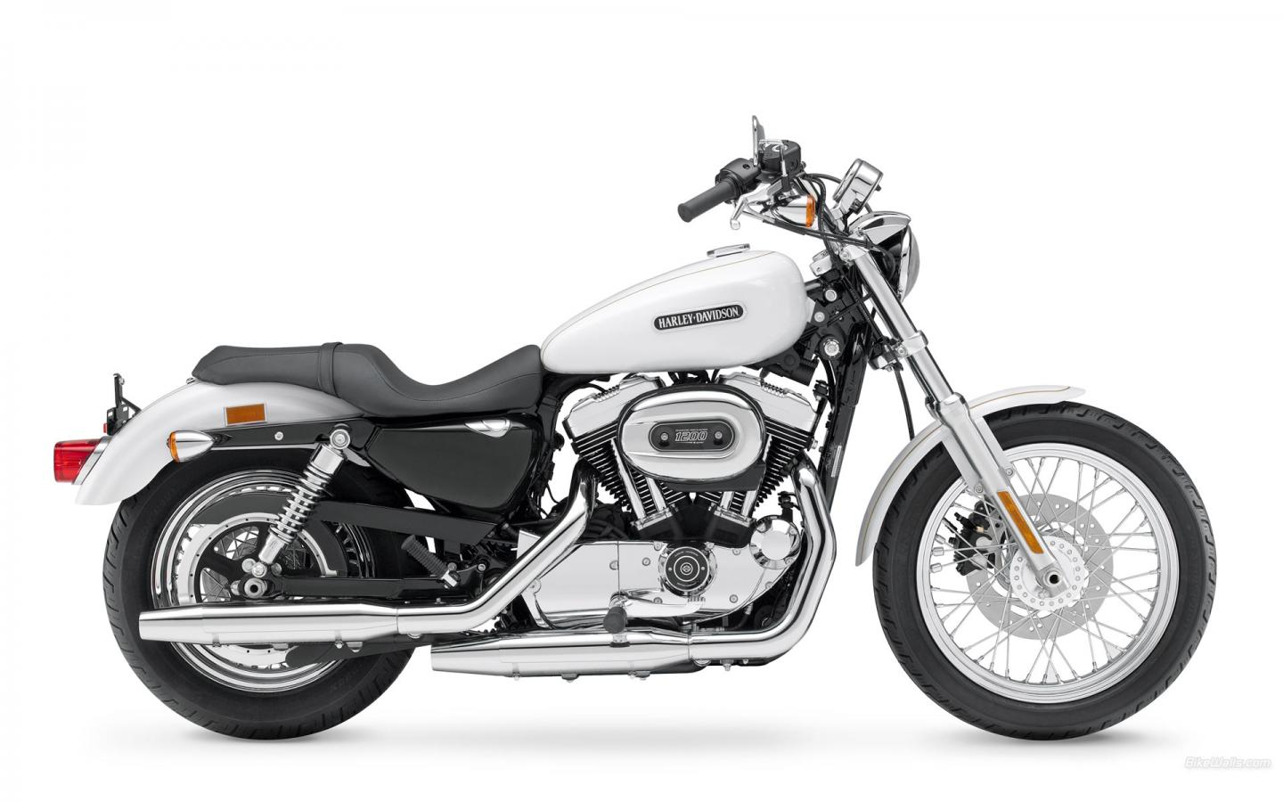 Harley-Davidson, Sportster, XL 1200 L Sportster 1200 Low, XL 1200 L Sportster 1200 Low 2008, мото, м 1440x900