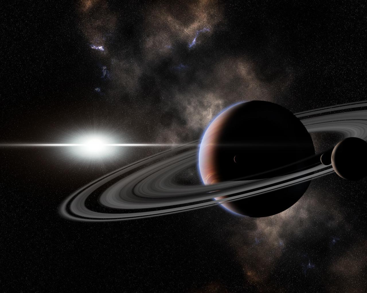 Обои космос планеты звезды космос