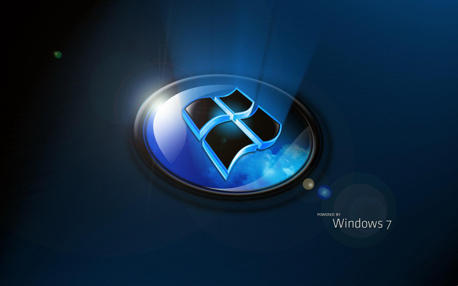 Windows 7, Lighting, Rendering, 3D 1920x1200