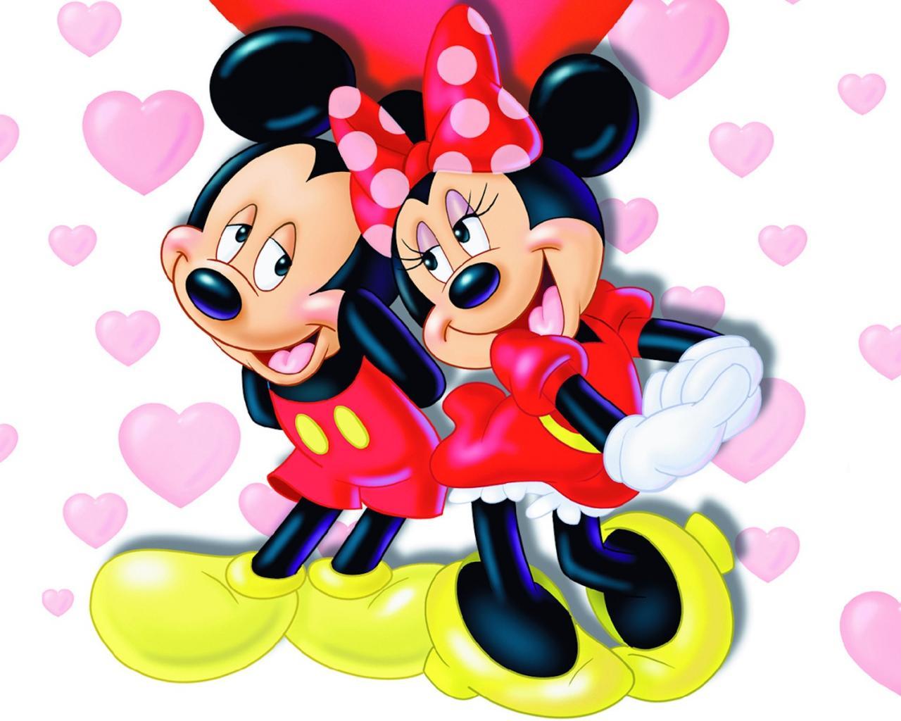 Любовь мышат обои для рабочего стола