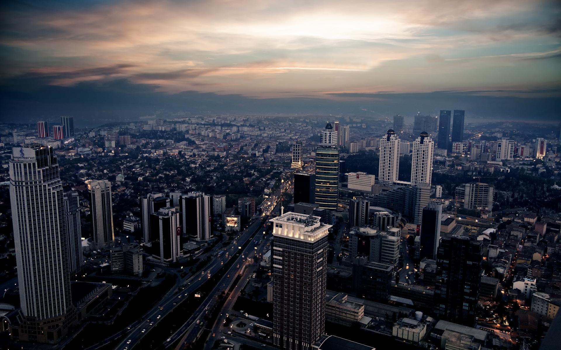 обои фото город