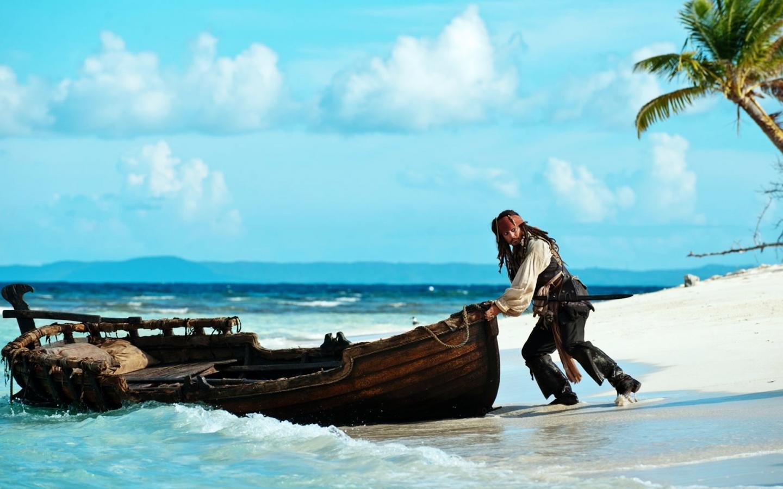 Стол из а пираты карибского моря 1440x900