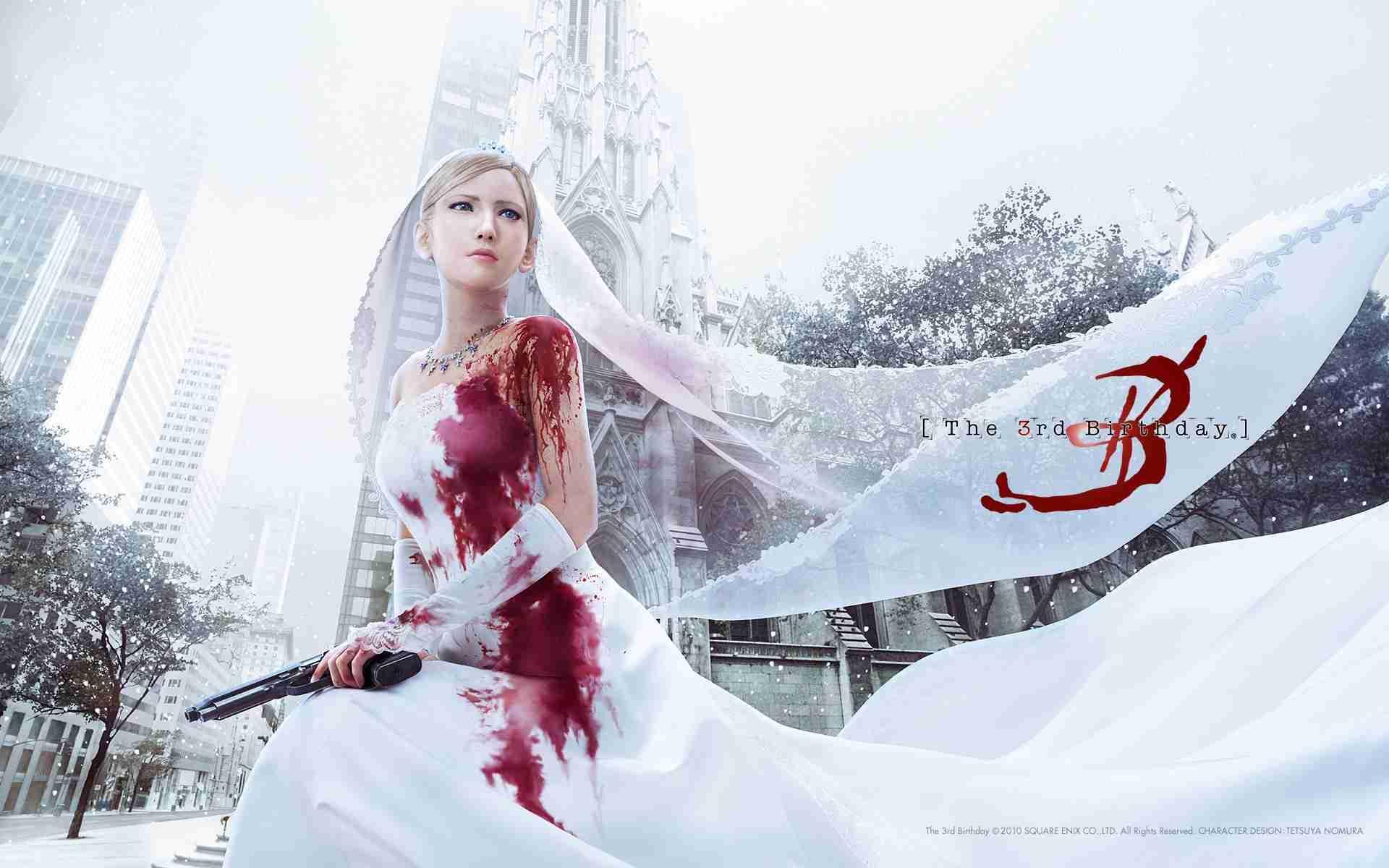 Кровь на свадебном платье