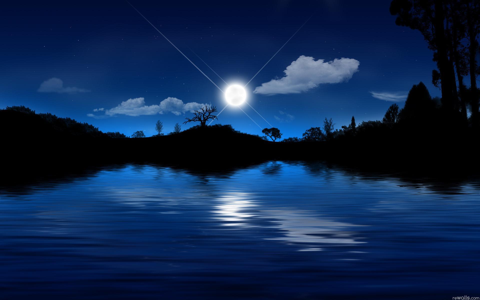 Картинки на рабочий стол природа ночь