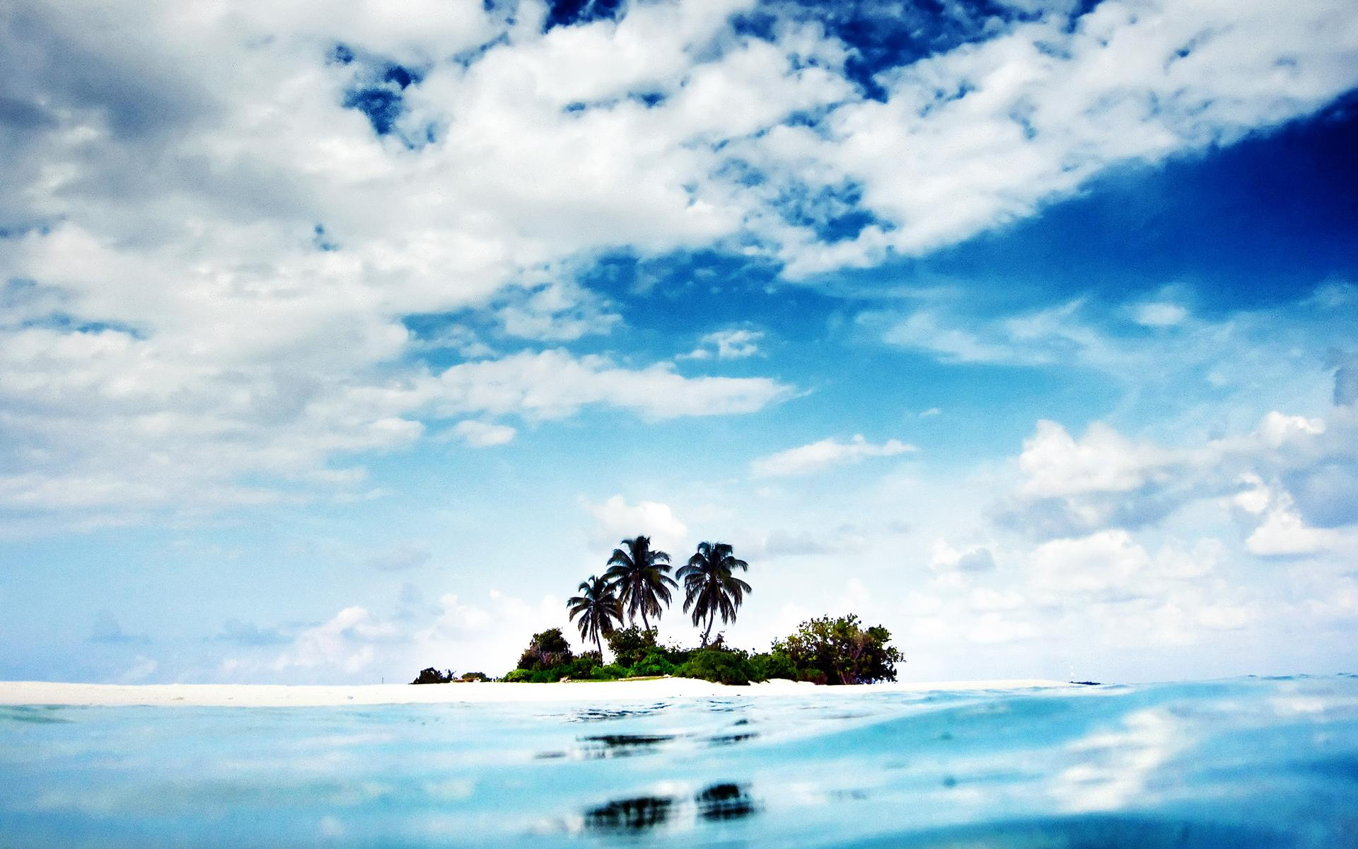 Обои природа природа пейзаж остров